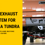 This exhaust system is totally crafted from stainless steel so you